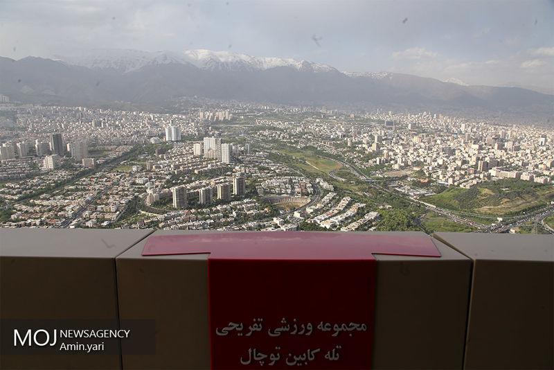 کیفیت هوای تهران ۱ تیر ۹۹/ شاخص کیفیت هوا به ۶۰ رسید
