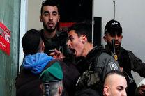 پلیس رژیم صهیونیستی 7 فلسطینی را در بیت المقدس بازداشت کرد