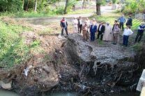اجرای طرح پاکسازی و تقویت دیواره ساحلی رودخانه آستاراچای