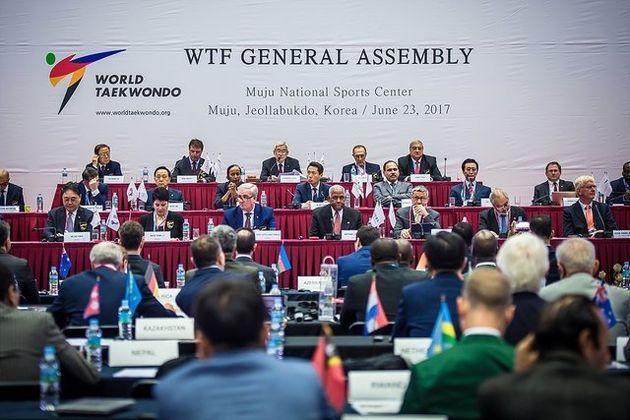 انتخاب دوباره رئیس فدراسیون جهانی تکواندو