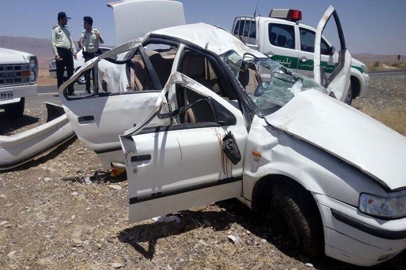 85 تصادف فوتی در جادههای کرمانشاه رخ داده است