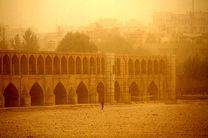 افزایش وزش باد و گردوغبار در اصفهان