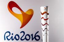 تلاش نافرجام شهروند معترض برزیلی برای خاموش کردن مشعل المپیک