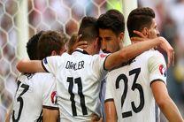 آلمان مقابل ایتالیا از نظر آماری برتر بود