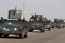 پرچم ارتش عراق در غرب موصل به اهتزار در آمد