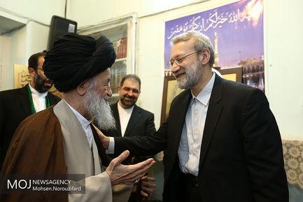 دیدارهای امروز علی لاریجانی