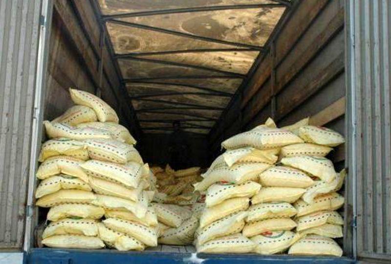محموله 6 میلیاردی برنج قاچاق در سیریک به مقصد نرسید