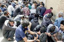 دستگیری 33 فروشنده مواد مخدر و معتاد در برخوار