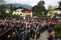 تظاهرات مردم آلمان در اعتراض به توافق ترکیه و اروپا درباره پناهجویان