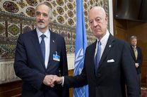 استفان دی میستورا امروز با بشار الجعفری دیدار می کند