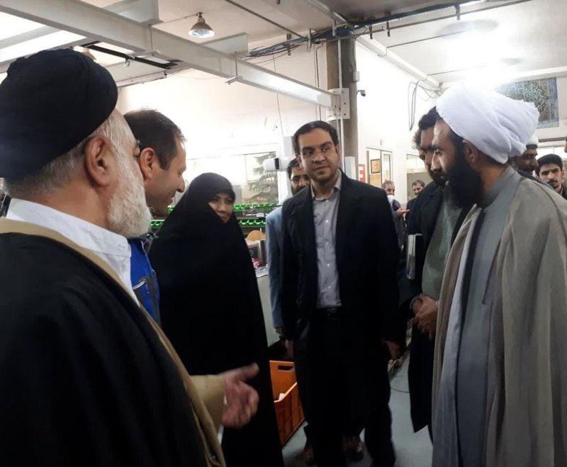 بازدید نماینده منتخب مردم اصفهان در مجلس یازدهم از شرکت بهیار صنعت دانشگاه صنعتی