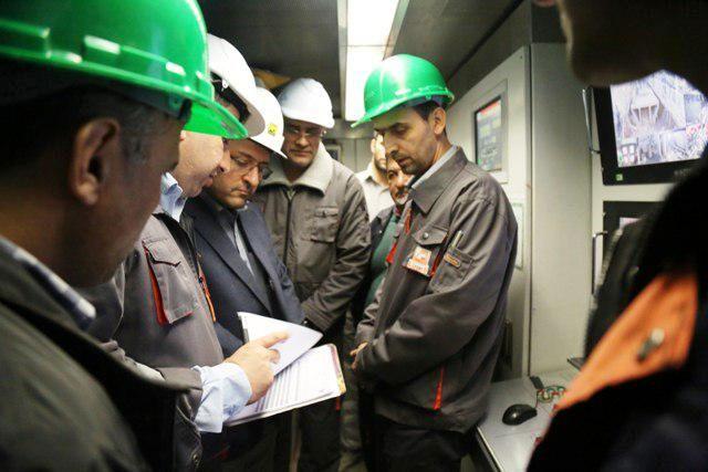 اتصال ۲خط متروی تهران با احداث یک ایستگاه جدید
