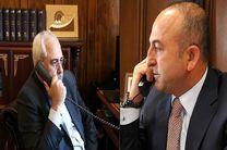 گفتگوی تلفنی وزیران امور خارجه ایران و ترکیه درباره ونزوئلا