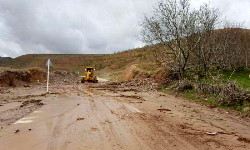 انسداد محور مواصلاتی 50 روستا با مرکز شهرستان بشاگرد در بارندگی اخیر