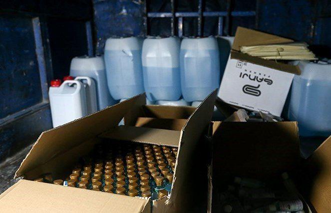 کشف عرضه مواد ضد عفونی تقلبی در بازار یزد