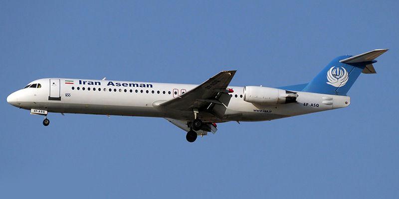 تاخیر در پرواز هواپیمایی آسمان به مقصد اهواز