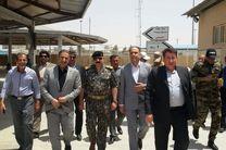 بازدید مدیر کل امور مرزی وزارت کشور دولت مرکزی عراق از مرز مهران