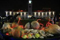 برگزاری سومین جشنواره کدو در پیاده راه فرهنگی شهرداری رشت