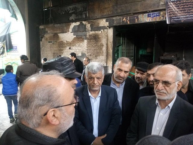 استاندار تهران از تکیه قدیمی درکه بازدید کرد