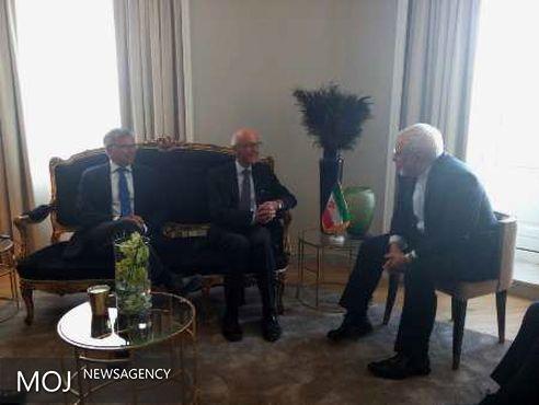 تاکید ظریف بر گسترش همکاری های دو جانبه و بین المللی ایران و نروژ در پسا برجام