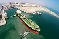 پهلوگیری دومین شناور بزرگ اقیانوس پیما حمل قیر در بندر خلیج فارس