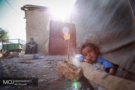 روستاهای اطراف کرمانشاه دو روز بعد از زلزله