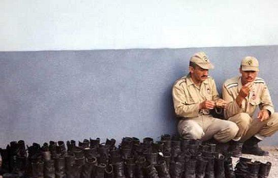 ماموران انتظامی و دژبان باید سربازان فراری را دستگیر کنند