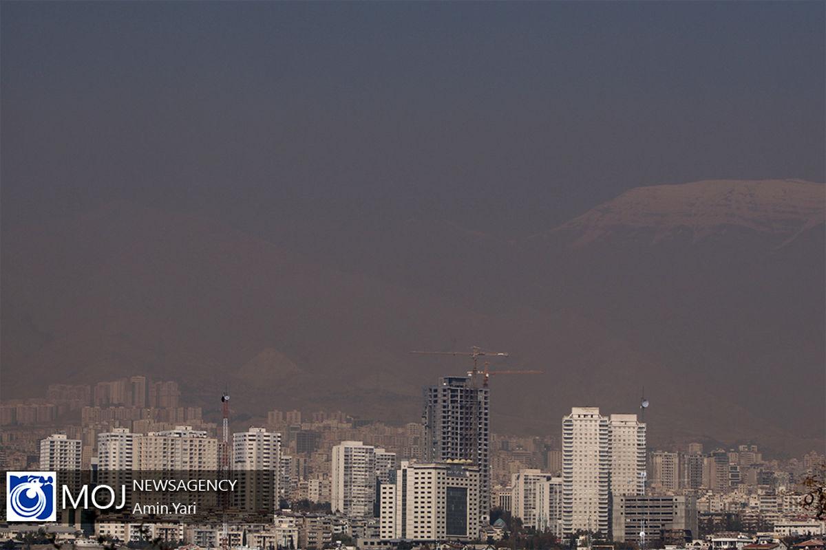 کیفیت هوای تهران ۲۶ اسفند ۹۹/ شاخص کیفیت هوا به ۱۲۹ رسید