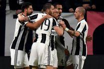 برد پر گل یوونتوس در لیگ ایتالیا