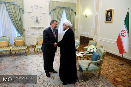 دیدار رییس جمهور با رییس مجلس سنای ایرلند