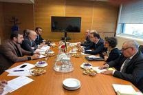دیدار علی اکبر صالحی و رئیس کمیسیون انرژی اتمی فرانسه