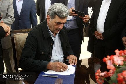 افتتاح پروژه های شهرداری منطقه ۱۷ تهران/پیروز حناچی شهردار تهران