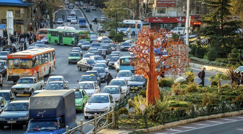 50 درصد خودروها در شمال تهران تک سرنشین هستند