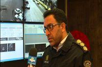 مرکز کنترل ترافیک پلیس راهور در رشت/ تخلفات به رانندگان پس از اعمال قانون با پیامک اطلاع رسانی می شود
