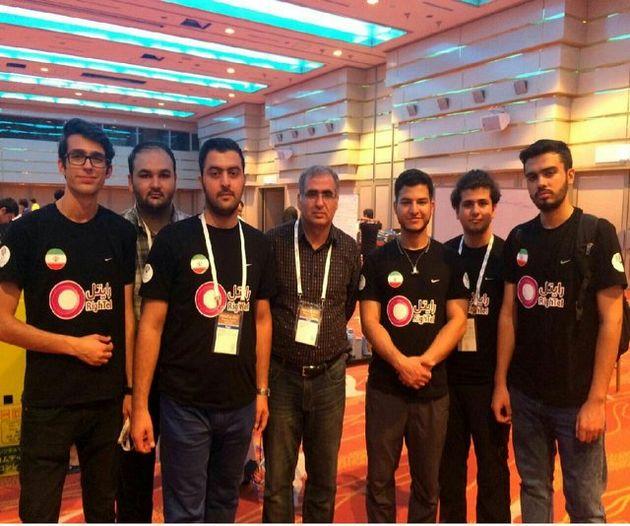 تیم دانشگاه امیرکبیر در لیگ رباتهای امدادگر نایب قهرمان شد