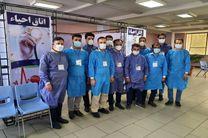 مشارکت همهجانبه بسیجیان ذوب آهن اصفهان در واکسیناسیون کارکنان