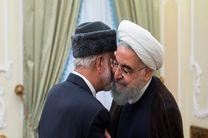 دیدار وزیر امور خارجه عمان با رئیس جمهور کشورمان