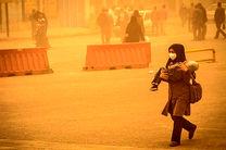 بروز گرد و خاک در  برخی نقاط هرمزگان/ماندگاری هوای سرد در استان