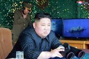 رهبر کره شمالی بر مانور موشکی ارتش کره شمالی نظارت داشته است