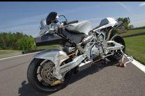 سبک ترین موتور سیکلت جهان