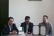 اهدای جایزه ادبی زنده یاد استاد فرض پور ماچیانی به احمد سمیعی گیلانی