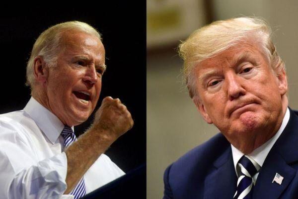 جنگ لفظی ترامپ و جو بایدن شدت گرفت!