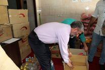 توزیع بسته معیشتی ویژه  کارگران در البرز