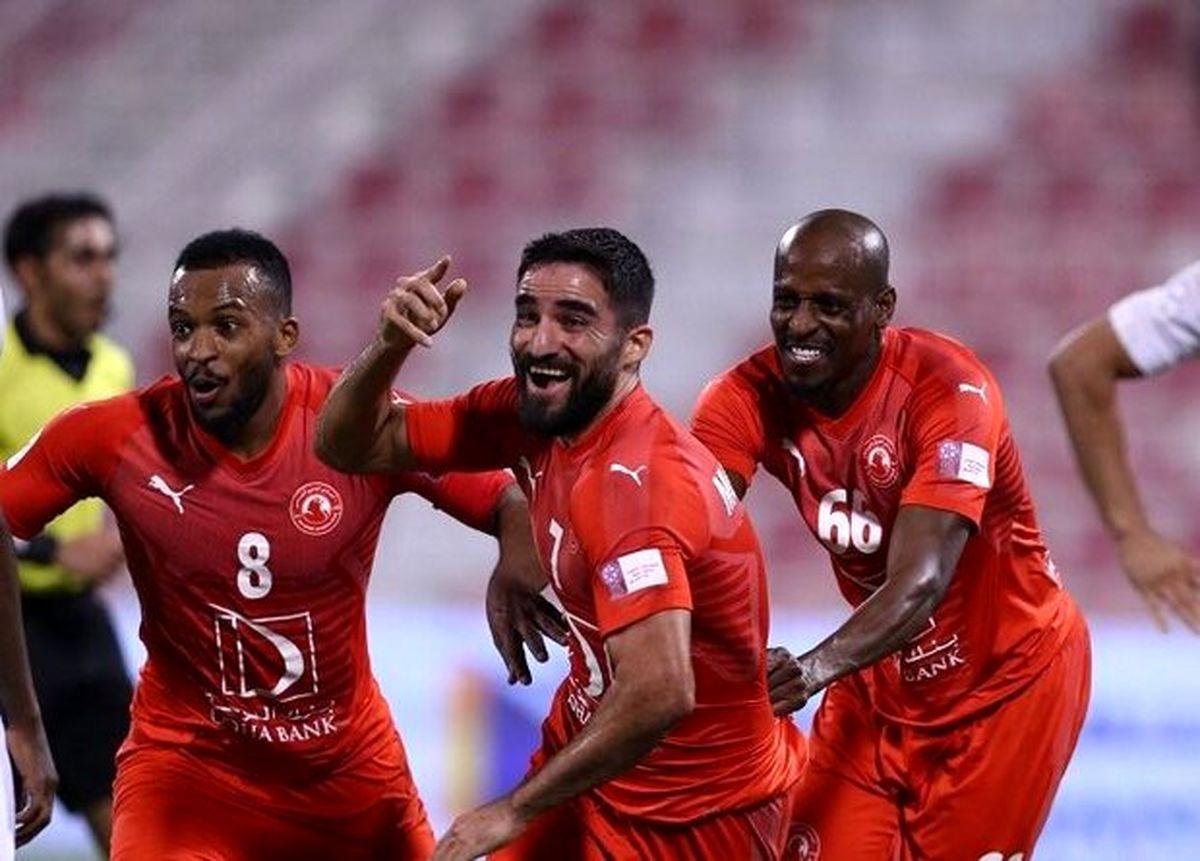 مهرداد محمدی به عنوان بهترین گلزن آسیایی لیگ ستارگان قطر انتخاب شد