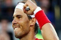 صعود نادال به دور چهارم تنیس اپن فرانسه