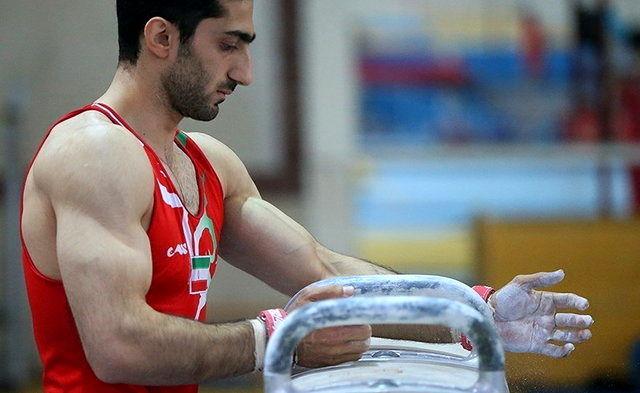 سعید رضا کیخا رتبه چهارم جام جهانی ژیمناستیک باکو را به دست آورد