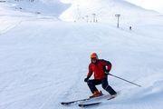 پیست اسکی فریدونشهر با ظرفیت محدود بازگشایی شد