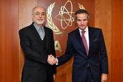 رافائل گروسی با رئیس سازمان انرژی اتمی کشورمان دیدار کرد