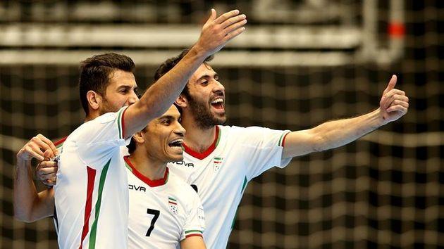 فوتسال ایران در رده ششم جهان و اول آسیا