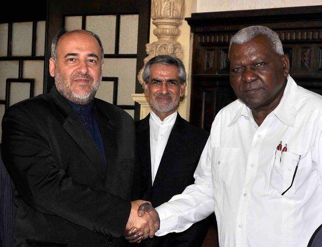 گروه دوستی پارلمانی ایران-کوبا دیدار کردند